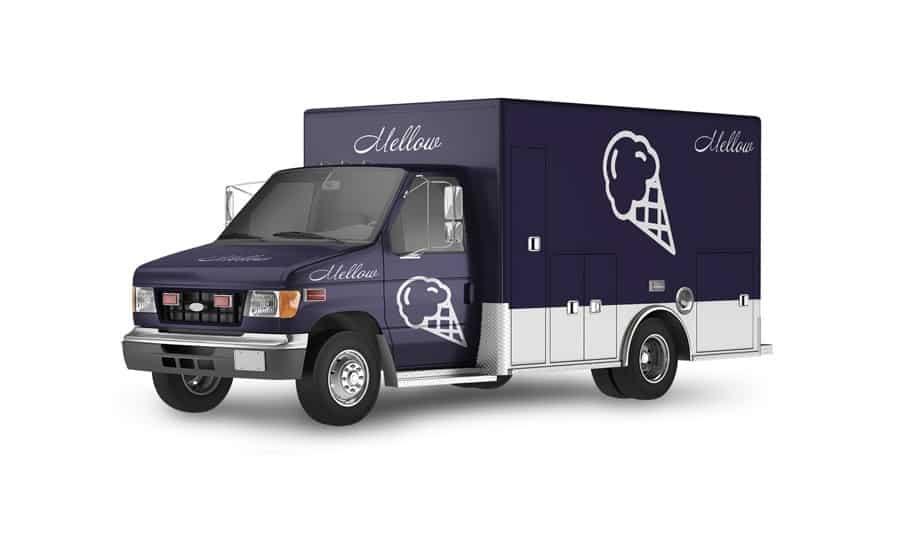 Cannabis ice cream truck
