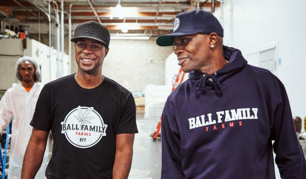 Charles and Chris Ball of Ball Family Farms