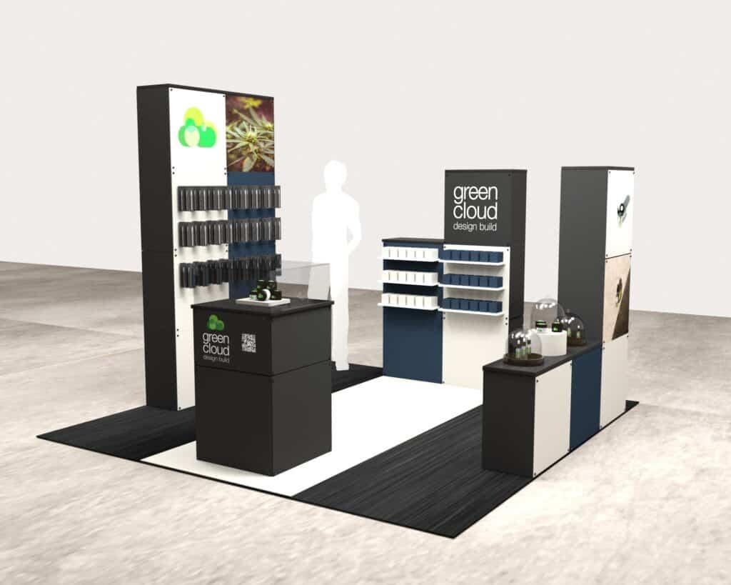 Cannabis retail design options