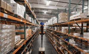 HERBL warehouse in California