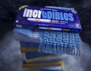 Incredibles cannabis chocolate snoozeberry